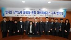㈜파로스IBT, 개방형 신약개발 DB 구축 위해 한국화학연구원과 업무협약 체결