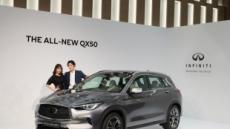 인피니티, 프리미엄 중형 SUV '더 올-뉴 QX50' 국내 공식 출시
