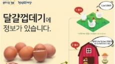 """'달걀 산란일자 표시제' 문답…""""가격 조절 불가"""""""