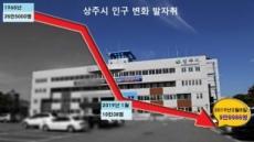 상주공무원들 '검정 상주복 출근' 이유…'인구 10만 방패 붕괴' 애도