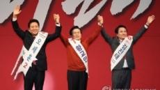 '어차피 대세는 황교안?' 한국당, 새 지도부 선출 투표 시작