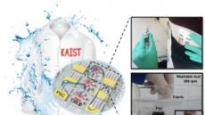 KAIST, 자가발전 웨어러블 디스플레이 개발