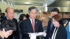 성윤모 산업 장관, 대구 섬유기업 찾아 수출 애로 점검