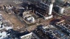 """""""일대가 폐허로"""" …中 옌청시  폭발사고 희생자 60명 넘어서"""