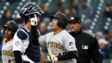 '피츠버그 믿음의 야구'에 보답한 강정호, 부활포…시즌 2호 홈런