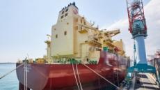 [르포]항해 앞둔 SK E&S LNG船…美 셰일가스 '민간 직도입' 시대 연다