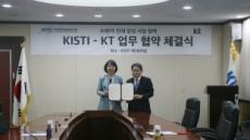 KISTI-KT, 데이터인공지능 분야 인재 양성 나서
