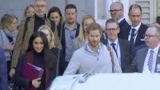 英 해리 왕자 커플, 출산 후 아프리카에 머무나