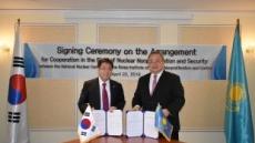 원자력통제기술원, 카자흐스탄과 핵비확산 기술협력 강화
