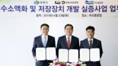 두산중공업, 국내 첫 수소액화플랜트 실증사업 나선다