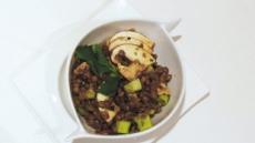 '저탄소 치유 식단' 버섯렌틸 샐러드 스크램블 두부 비빔밥