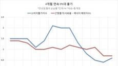 1~4월 누적 물가상승률 '사상 최저'…커지는 일본식 디플레 그림자