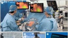 [5G·AI시대…헬스케어의 진화]원터치로 수술장비 세팅·교체 '척척'…3D안경 봉합 '신의 손'