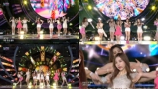 네이처(NATURE), 'SBS 슈퍼콘서트'에서 더 빛난 존재감…로고송 스타의 위엄