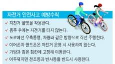라이딩의 계절…자전거 탈때 필수템은?