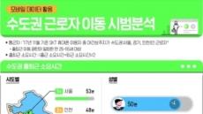 서울 거주자 통근시간 53분…인천ㆍ경기보다 길어