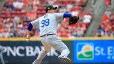 류현진, 7이닝 무실점 시즌 6승…방어율 1.52 MLB 전체 1위