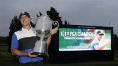 """켑카 """"메이저 킬러"""" PGA챔피언십 우승"""