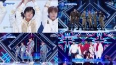 '프로듀스X101' 그룹<X>배틀에서 No More Dream 팀 1등, 김현빈 전체 1등