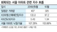 서울 주택시장 지표는 회복세…집값 반등 기대감  '솔솔'