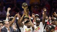 토론토 랩터스 창단 첫 우승…캐나다 연고팀 최초 기록