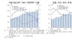[6월 금융안정보고서] 여전히 빚속도 > 소득속도