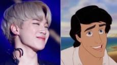 """해외언론 """"BTS 지민, 인어공주 '에릭왕자'역에 최적임"""" 찬사"""