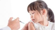 '예방접종률' 만 1~3세 90% 넘다가 만 6세되면 80%대로 하락