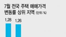 7월 집값 상승 톱3 '광명·과천·하남'