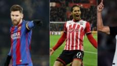 메시-판데이크-호날두, 이중 '올 최고 UEFA'주인공 누구?