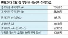 재건축 초과이익환수제 첫 대상 '반포현대' 분양 스타트