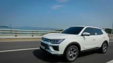 [시승기]디젤 뺨치는 힘에 경제성·실용성까지…쌍용차 '코란도 가솔린'
