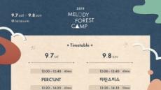 대중성 음악성 두루 갖춘 '멜로디 포레스트 캠프', god-장범준부터 헤이즈-10cm까지
