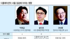'D의 공포'…집값만 홀로 강세 언제까지?
