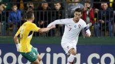 포르투갈, 유로2020 예선서 리투아니아에 대승…호날두 4골