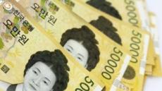 미환수 5만원권 첫 100조 돌파…금리 떨어지자 더 꽁꽁