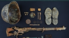 화살머리고지서 故김기봉 이등중사 유해 추가확인…탄알 장전된 M1소총도 발굴
