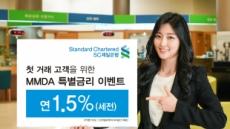 SC제일銀, 첫 거래 개인고객에 연 1.5% 금리주는 일복리저축예금