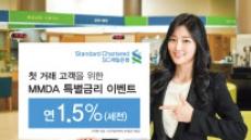 SC제일銀, 첫 개인고객에 연 1.5% '일복리 예금'