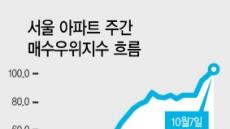 서울 아파트시장 사자〉팔자
