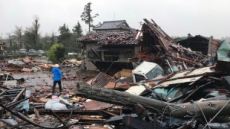 태풍 하기비스, 日 강타…1000만명 피난권고