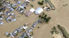 일본 태풍 피해, 26명 사망·행불…마을 물에 잠겨