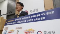 국세청, 연소득 10억원 이상 탈세 호화생활 연예인·유튜버 세무조사