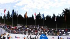 [헤럴드pic] 제주에서 열리는 PGA … '더 CJ컵 @ 나인브릿지' 1라운드 시작