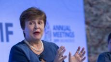 """게오르기에바 IMF 총재 """"국가 평가에 '기후 변화' 포함시킬 것"""""""