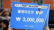 '아버지 이종범처럼' 이정후, 플레이오프 MVP…부자지간 첫 기록