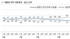 文대통령 40% 붕괴, 왜?…민생·경제 불만에 '조국 사퇴'가 결정타