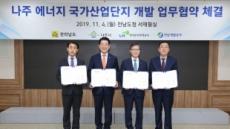 LH, 나주 에너지 국가산단 개발 업무협약