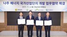 LH'나주 에너지 국가산단'업무협약