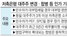 [규제에 발묶인 M&A]10여개 저축銀 매물 수년째 주인 못찾아 '허덕'